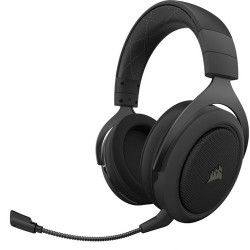 Laptop and PC headsets | Corsair HS70 Pro Wireless PC & PS4 Headset - Black