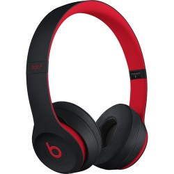 Beats by Dr. Dre Beats Solo3 Wireless On-Ear Headphones (Defiant Black/Red/Decade Collection)