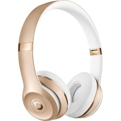 Beats by Dr. Dre Beats Solo3 Wireless On-Ear Headphones (Gold/Icon)