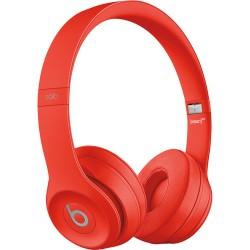 Beats by Dr. Dre Beats Solo3 Wireless On-Ear Headphones (Red/Core)