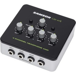 Headphone Amplifiers | Samson QH4 4-Channel Headphone Amplifier