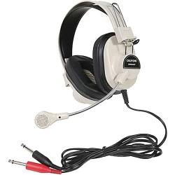 Dual-Ear Headsets | Califone 2964AV Mono Headset with Boom Microphone