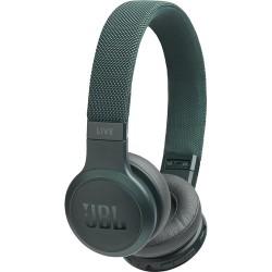 JBL LIVE 400BT Wireless On-Ear Headphones (Green)