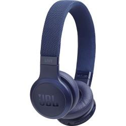 JBL LIVE 400BT Wireless On-Ear Headphones (Blue)