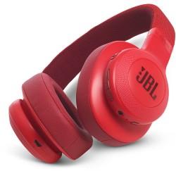 JBL E55BT Bluetooth Over-Ear Headphones (Red)