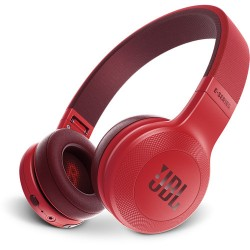 JBL | JBL E45BT Bluetooth On-Ear Headphones (Red)