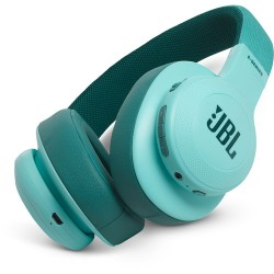 JBL E55BT Bluetooth Over-Ear Headphones (Teal)