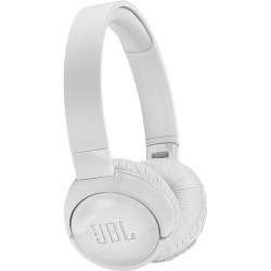 JBL TUNE 600BTNC Wireless On-Ear Headphones with Active Noise Cancellation (White)