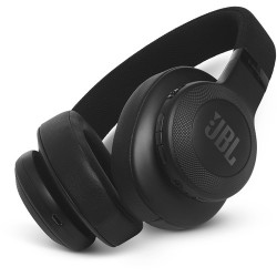 Headphones | JBL E55BT Bluetooth Over-Ear Headphones (Black)