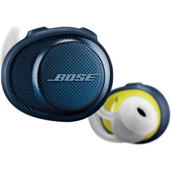Bose SoundSport Free Wireless In-Ear Headphones (Navy/Citron)