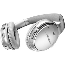Bose QuietComfort 35 Series II Wireless Noise-Canceling Headphones (Silver)