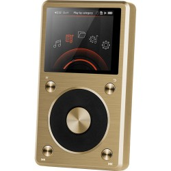 DACs | Digital to Analog Converters | FiiO X5 (2nd Gen) Portable High-Resolution Audio Player (Gold)