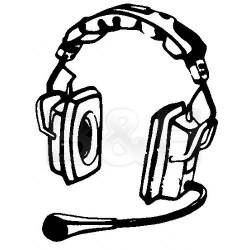 Dual-Ear Headsets | Telex PH-3R5 - Full Cushion Stereo Binaural RTS Intercom Headset