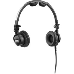 Dual-Ear Headsets | Telex LH-302 Lightweight RTS Double-Sided Broadcast Headset (1/4 Connector, No Microphone)