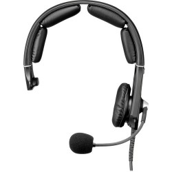 Single-Ear Headsets | Telex MH-300 Single-Sided Headset with 4-Pin XLR Female Connector