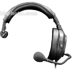 Intercom Headsets | Telex HR-1R5 - Single-muff Medium-Weight RTS Communications Headset with 21dB of Noise Reduction