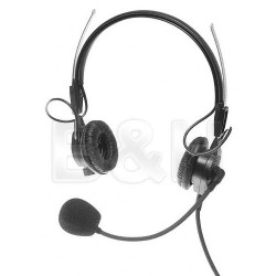 Intercom Headsets | Telex PH44 - Lightweight Dual Headset for RTS