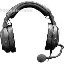 Intercom Headsets | Telex HR-2- Dual Sided Headset with Boom Mic