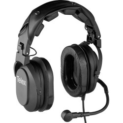 Dual-Ear Headsets | Telex HR-2R - Dual Sided Headset with A4M Connector