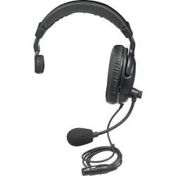 Single-Ear Headsets | PortaCom H2000S - Single-Sided Headset for Intercoms