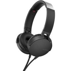 Over-ear Headphones | Sony XB550AP EXTRA BASS Headphones (Black)