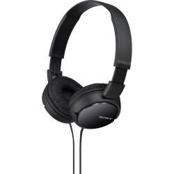 Over-ear Headphones | Sony MDR-ZX110 Stereo Headphones (Black)