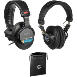 Sony MDR-7506 and Senal SMH-1000 Headphones Kit