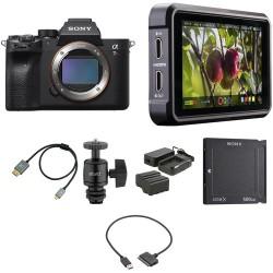 Sony   Sony Alpha a7R IV Mirrorless Digital Camera Body with Cine Kit
