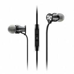 Headsets | Sennheiser Momentum In-Ear Headphones (Apple iOS, Black Chrome)
