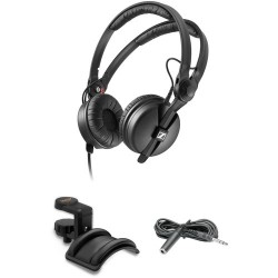 DJ Headphones | Sennheiser HD 25 Monitor Headphones Kit with Holder and Extension Cable