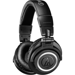 Monitor Headphones | Audio-Technica Consumer ATH-M50xBT Wireless Over-Ear Headphones