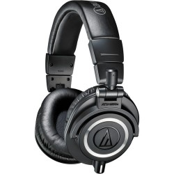 Studio Headphones | Audio-Technica ATH-M50x Monitor Headphones (Black)