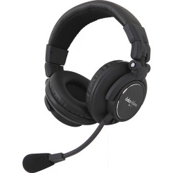 Intercom Headsets | Datavideo HP-2A Dual-Ear Headset for ITC Intercom Systems